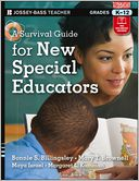 A Survival Guide for New Special Educators by Bonnie S. Billingsley: Book Cover