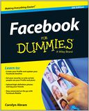 Facebook For Dummies by Carolyn Abram: NOOK Book Cover