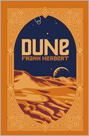 Dune (Barnes & Noble Leatherbound Classics) by Frank Herbert: Book Cover