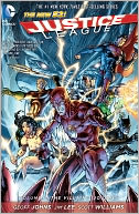 Justice League Volume 2 by Geoff Johns: NOOK Book Cover