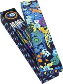 Vera Bradley Midnight Blues Pencil Box - 10 Pencils and Sharpener by Barnes &amp; Noble: Product Image