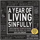 2014 Year of Living Sinfully Day-to-Day Calendar, A by Eric Grzymkowski: Calendar Cover