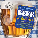 2014 A Year of Beer Diecut Page-A-Day Calendar by Workman: Calendar Cover
