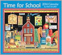 2014 Time for School Deluxe Wall Calendar by Ellen Stouffer: Calendar Cover