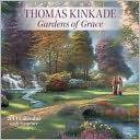 2014 Thomas Kinkade Gardens of Grace with Scripture Wall Calendar by Thomas Kinkade: Calendar Cover
