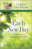 Each New Day by Corrie ten Boom: Book Cover