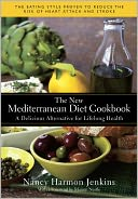 The New Mediterranean Diet Cookbook by Nancy Harmon Jenkins: Book Cover