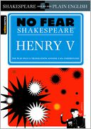 Henry V (No Fear Shakespeare) (PagePerfect NOOK Book) by SparkNotes Editors: NOOK Book Cover