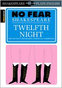 Twelfth Night (No Fear Shakespeare) (PagePerfect NOOK Book) by SparkNotes Editors: NOOK Book Cover