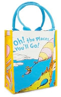 Dr. Seuss Oh, the Places You'll Go! Small Shopper Tote by Vandor LLC: Product Image