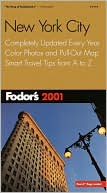 Fodor's New York City 2001 by Fodor's Travel Publications: Book Cover