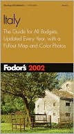 Fodor's Italy 2002 by Fodor's Travel Publications: Book Cover