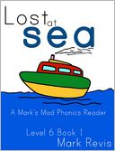Lost at Sea by Mark Revis: NOOK Book Cover