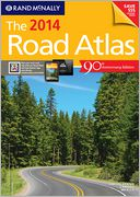 2014 Road Atlas by Rand McNally: Book Cover