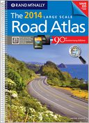 2014 Large Scale Road Atlas by Rand McNally: Book Cover