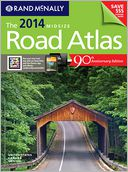 2014 Midsize Road Atlas by Rand McNally: Book Cover