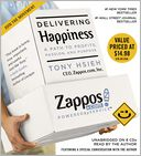 Delivering Happiness by Tony Hsieh: CD Audiobook Cover