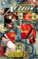 Action Comics #18 (2011- ) (NOOK Comics with Zoom View) by Grant Morrison: NOOK Book Cover