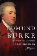 Edmund Burke by Jesse Norman: Book Cover