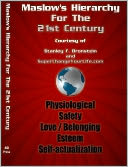 Maslow's Hierarchy For The 21st Century by Stanley Bronstein: NOOK Book Cover