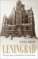 Leningrad by Anna Reid: NOOK Book Cover