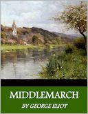 Middlemarch by George Eliot: NOOK Book Cover