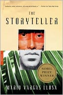 The Storyteller by Mario Vargas Llosa: NOOK Book Cover