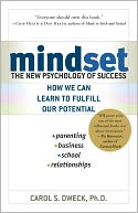 Mindset by Carol Dweck: Book Cover