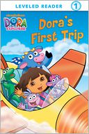 Dora's First Trip (Dora the Explorer) (PagePerfect NOOK Book) by Molly Reisner: NOOK Book Cover