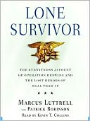 Lone Survivor by Marcus Luttrell: Audio Book Cover