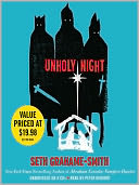 Unholy Night by Seth Grahame-Smith: Audio Book Cover