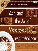 Zen and the Art of Motorcycle Maintenance by Robert M. Pirsig: Audio Book Cover