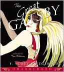 The Great Gatsby by F. Scott Fitzgerald: Audio Book Cover