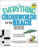 The Everything Crosswords For The Beach Book by Charles Timmerman: Book Cover
