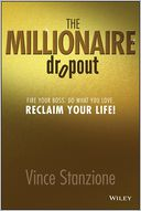 The Millionaire Dropout by Vince Stanzione: Book Cover