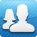 FriendCaster for Facebook by OneLouder Apps: NOOK App Cover