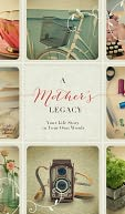 Mother's Legacy Covered Wire-O Lined Journal 5.88[[[[ by Nelson, Thomas, Inc.: Product Image