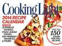 2014 Cooking Light Boxed Recipe Calendar by Time Home Entertainment Inc.: Calendar Cover