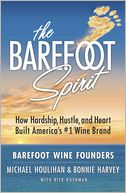 The Barefoot Spirit by Bonnie Harvey: Book Cover