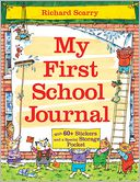 Richard Scarry's My First School Journal by Richard Scarry: Book Cover
