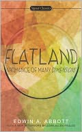 Flatland by Edwin A. Abbott: NOOK Book Cover