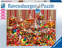 Candy Overload 1000 Piece Puzzle by Ravensburger: Product Image