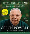 It Worked for Me by Colin Powell: CD Audiobook Cover