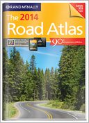 2014 Gift Road Atlas by Rand McNally: Book Cover