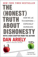 The Honest Truth About Dishonesty by Dan Ariely: Book Cover