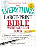 The Everything Large-Print Bible Word Search Book, Volume II by Charles Timmerman: Book Cover
