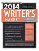 2014 Writer's Market Deluxe Edition by Robert Lee Brewer: Book Cover