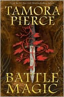 Battle Magic by Tamora Pierce: Book Cover