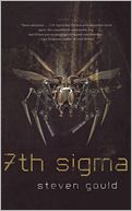 7th Sigma by Steven Gould: Book Cover