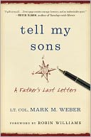 Tell My Sons by Mark Weber: Book Cover